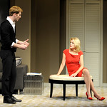 Grant MacDermott and Alexandra Neil in the Huntington's production of Christopher Shinn's political drama NOW OR LATER, directed by Michael Wilson, plays Oct. 12 — Nov. 10. 2012 at the South End / Calderwood Pavilion at the BCA. Photo: Paul Marotta