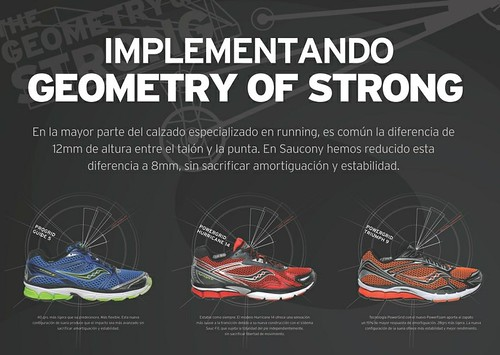 Entendiendo Geometry of Strong de Saucony