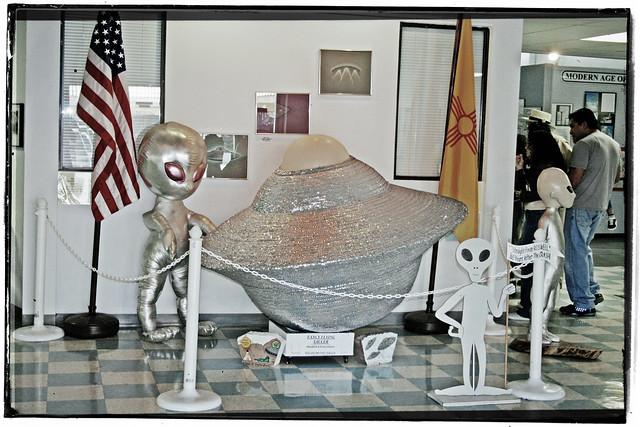 International UFO Museum & Research Center, Lobby, 2006