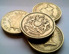 British Pound (£) coins
