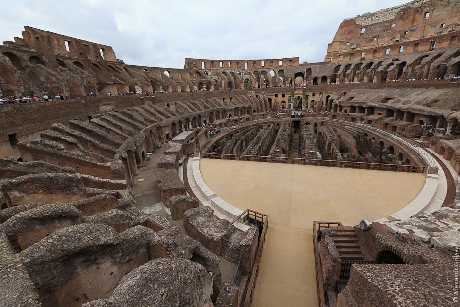Колизей, Рим, Италия - описание достопримечательности, фото, отзывы