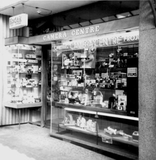 Keighley Camera Centre in Cavendish Street 1965