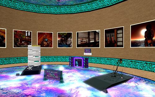 Exhibit at ArtWorldz Gallery InWorldz by Teal Freenote