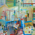 oil on canvas 2006 120x160cm SOLD