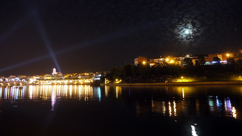 Mirandela, River at Night
