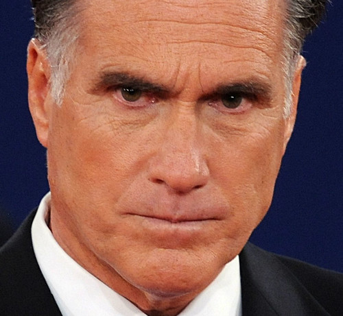 Romney Angry