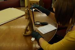 Measuring Height of Figurine