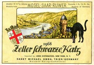 1968 - Zeller Schwarze Katz (Mosel)