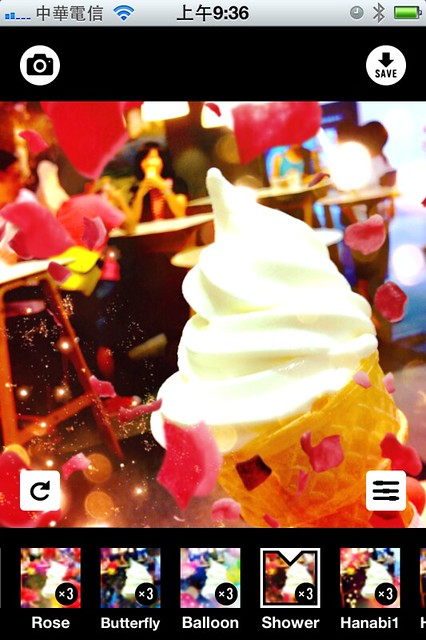 iPhone App: Cameran directed by Mika Ninagawa