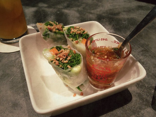 Prawn Summer Rolls, Kilo at PACT, Singapore