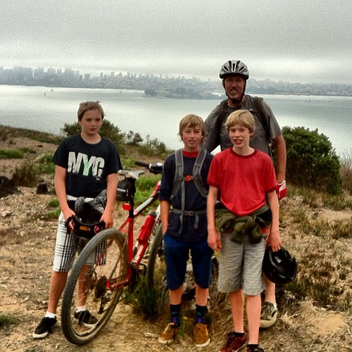 Angel Island with Nathaniel and friends by frank.leahy