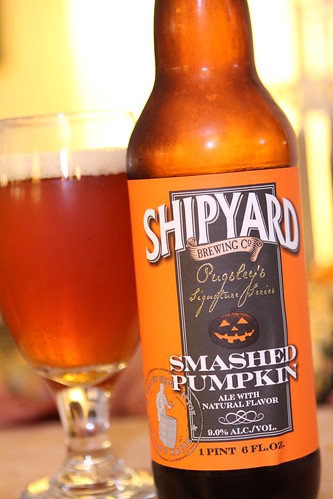 Shipyard Brewing Co. Smashed Pumpkin