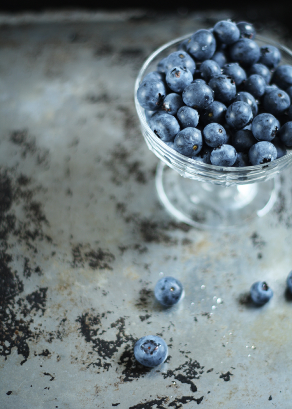 Gluten Free Scallywag Christmas Magazine 2012 Preview - Blueberries