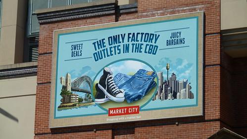 Market City Billboard