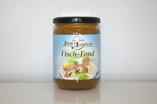 04 - Zutat Fischfond / Ingredient fish stock