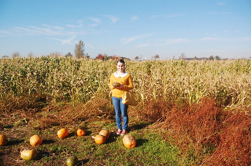Pumpkin picking!