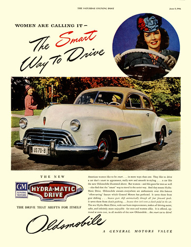 Women Prefer The 1946 Oldsmobile by paul.malon