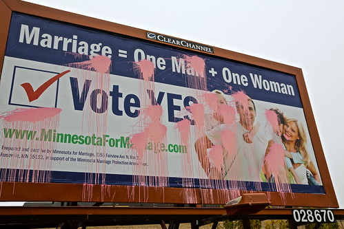 Vote Yes Billboard. by Urban Camper.