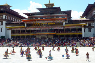 Dance in honour of Guru Rinpoche