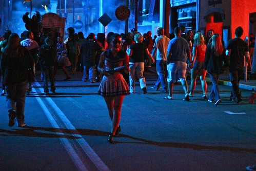 Trick-or-Treaters at Halloween Horror Nights 2012