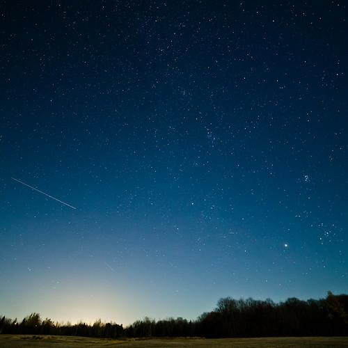 [フリー画像素材] 自然風景, 空, 夜空, 星, 流星 ID:201211022000