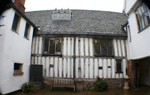 Courtyard at Leicester Guildhall