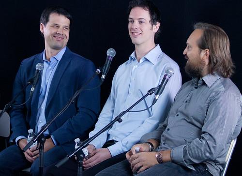 Cory Janssen, Gord Lacey, Dr. Greg Zeschuk