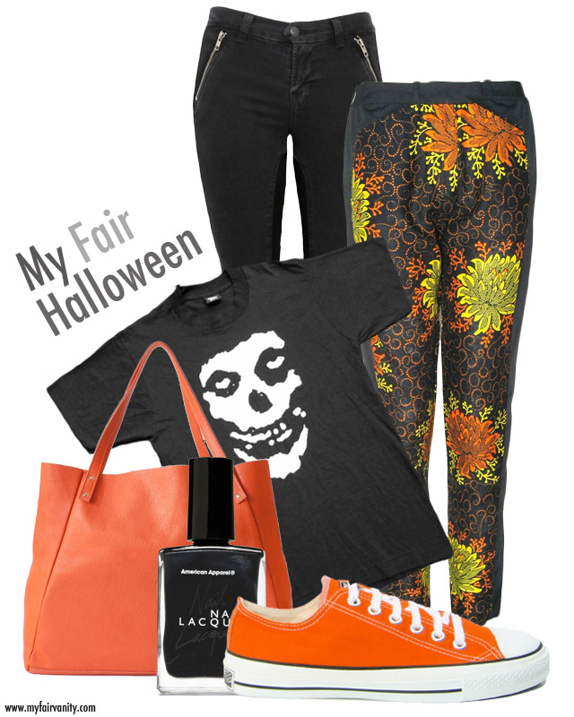 Halloween apparel, my fair vanity, style blog, eco blog