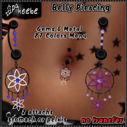 *P* Dreams Belly Piercing