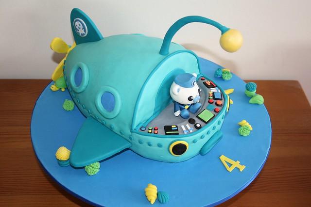 Octonauts Gup A Cake Top Flickr Photo Sharing