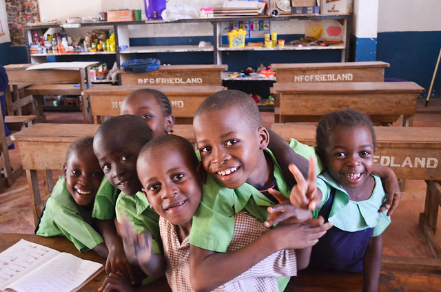 Smiling Faces at Diani Children's Support Centre, Kenya