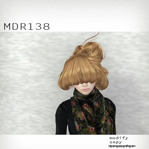 booN MDR138 hair