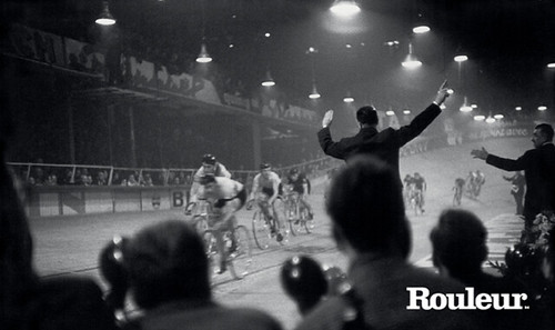 The latest issue of Rouleur magazine features a selection of photos shot by the legendary photography Henri Cartier-Bresson. The historic photos were shots at the Velodrome d'hiver in Paris. The photos are accompanied by words by Jack Thurston, host of The Bike Show on Resonance FM in London. Photo: Cover image from Rouleur issue 34
