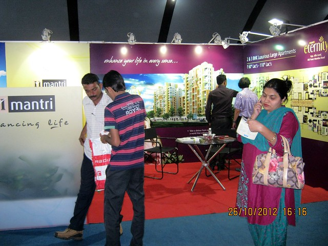 Property Buyers at Exhibition of Properties in Hinjewadi, Wakad, Baner, Balewadi & Bavdhan! - PROFEST WEST 2012 by CREDAI Pune Metro on 26 - 27 - 28 October 2012 at VITS Hotel, Balewadi, Pune