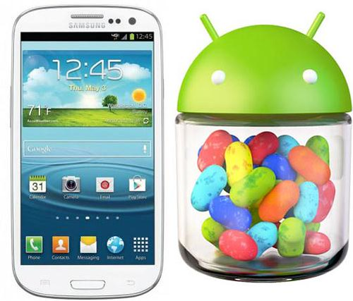 Galaxy S III Jelly Bean update