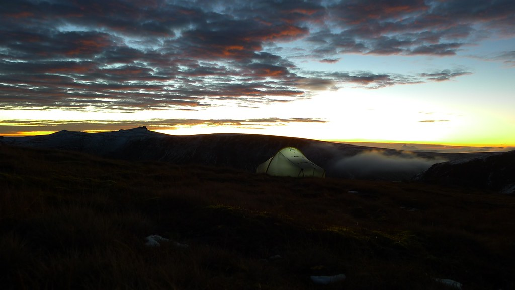 Ben Avon and tent