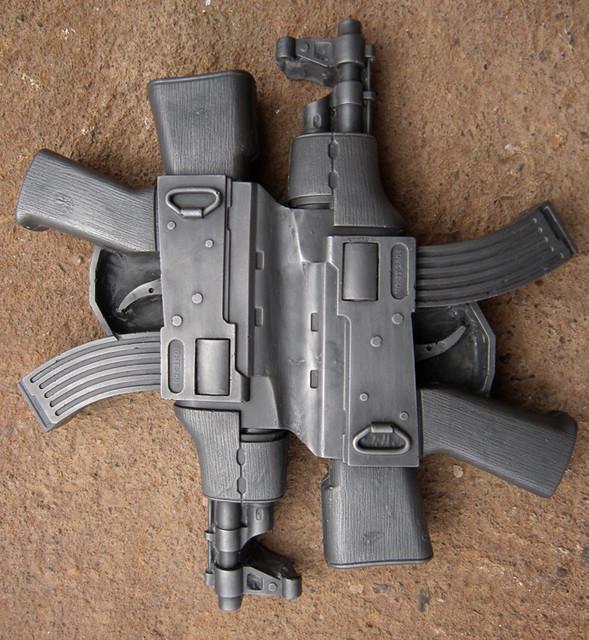 'Guns for toys' Iron Edition