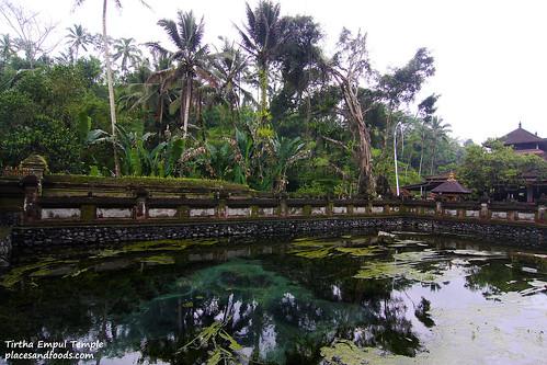 Tirtha Empul Temple pond