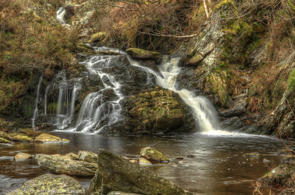Rhiwargor Waterfall HDR