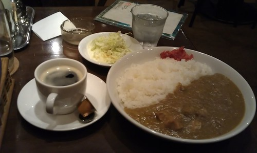 good curry and coffee by Kanda Mori