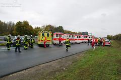 Verkehrsunfall Tangente B455/A66 27.10.12