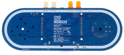 Arduino Esplora Rear