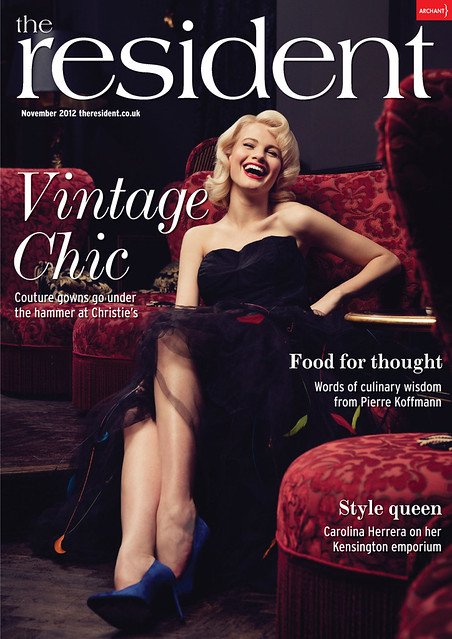 Vintage Dresses nov 2012 cover