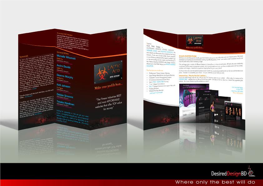 Tri Fold Brochure Design By Desired Design BD