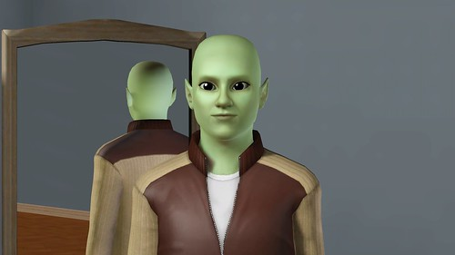 how to make a sims 3 alien
