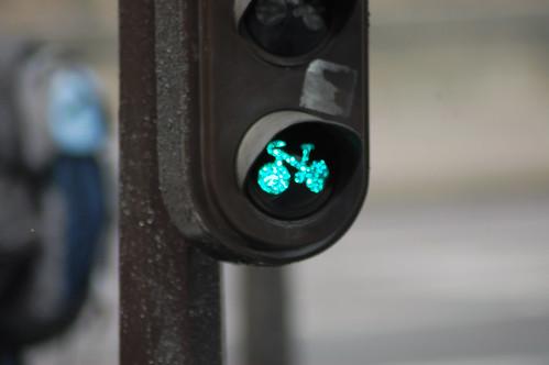 Semáforo verde - Paris