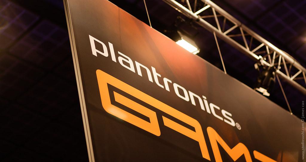 Gamecom Plantronics | Paris Games Week 2012