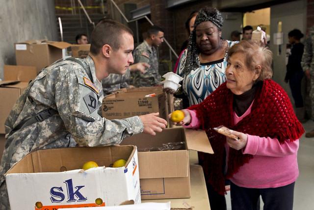 Hurricane Sandy assistance