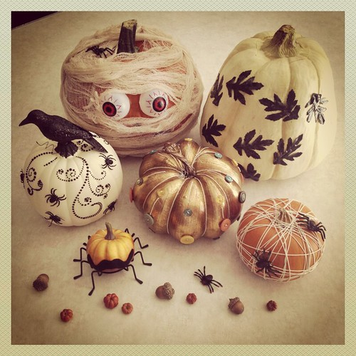 No Carve Halloween Pumpkin Ideas by Heather Says