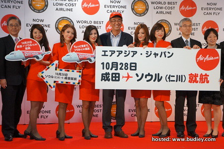 AirAsia Japan celebrates inaugural flight to Seoul